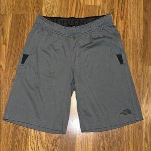 Grey North Face Shorts